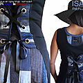 MOD-616B-robe-patchwork-jean-denim-bleue-noire-gris-createur-made-in-france-isamade