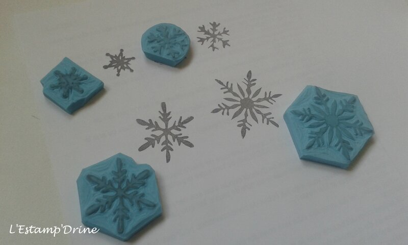 flocons neige tampon gravure gomme(5)