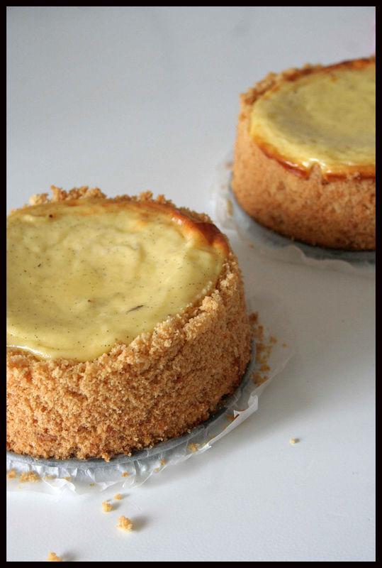 Classic New York Cheesecake à La Vanille Beau à La Louche