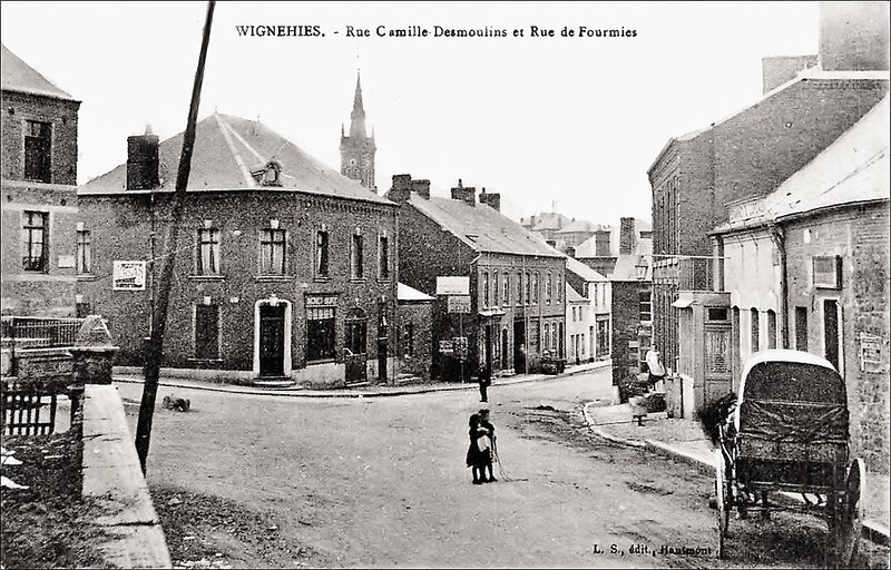 WIGNEHIES-Rue Camille Desmoulins