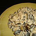 Poêlée de courgette au curry et au sel au piment d'espelette