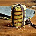 Cookies moelleux menthe et chocolat