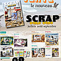 Terre & scrap à découvrir dans :magazine scrap pour tous