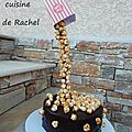 Gravity cake pop corn