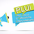 Plan local d'urbanisme intercommunal (plui) 2017