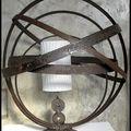 lampes cercles tonneau-haut 79cm-larg 66cm-diam socle 24cm (ven