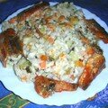mon risotto avec sardine à la tomate1