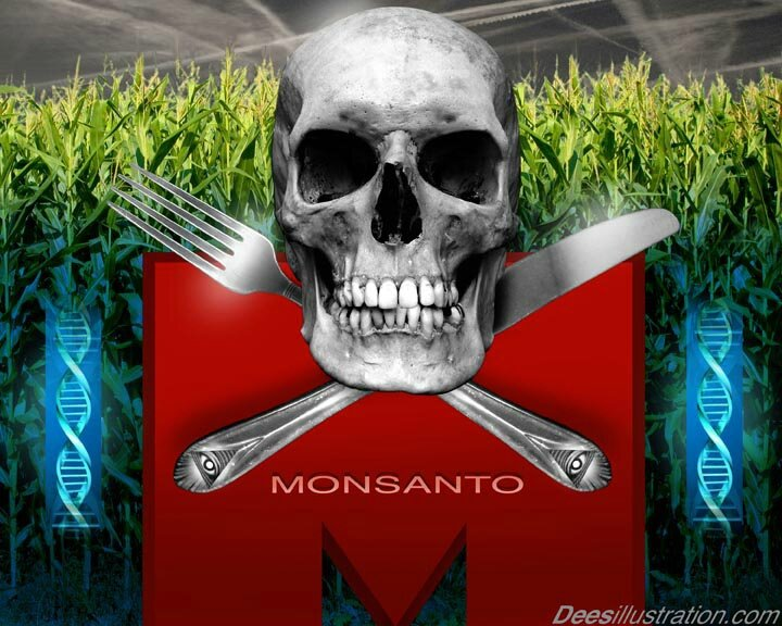 skull-fork-knife-monsanto