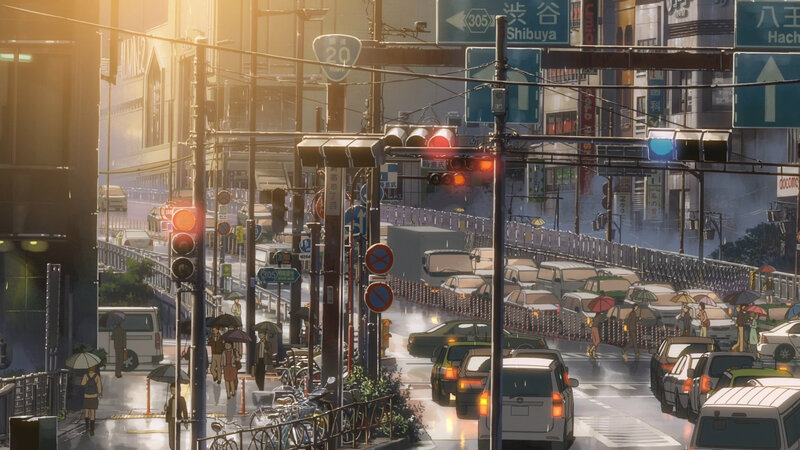 Canalblog Anime Makoto Shinkai The Garden Of World Voitures01