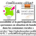 1er avril 2009 à saint jean d'ardières : accessibilité (table ronde)