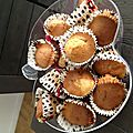 Les muffins, myrtilles, choco, or whatever....