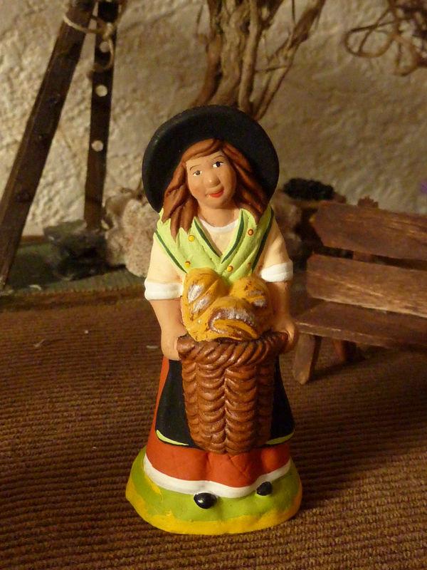 la petite fille aux pains