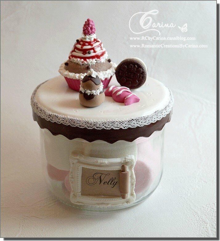 Pot framboise chocolat 1