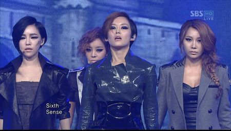 111009 Brown Eyed Girls - Sixth Sense on SBS IG-MT ¨KpopRocksHD¨