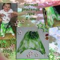 Sarouel enfant- satin indou
