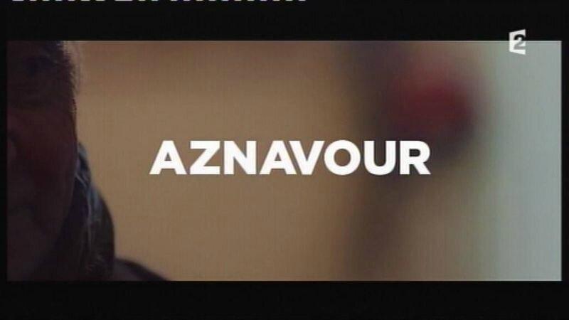 le 07 janvier 2014 Johnny et Aznavour sur l'A2 (1)