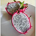 La pitaya ou fruit du dragon