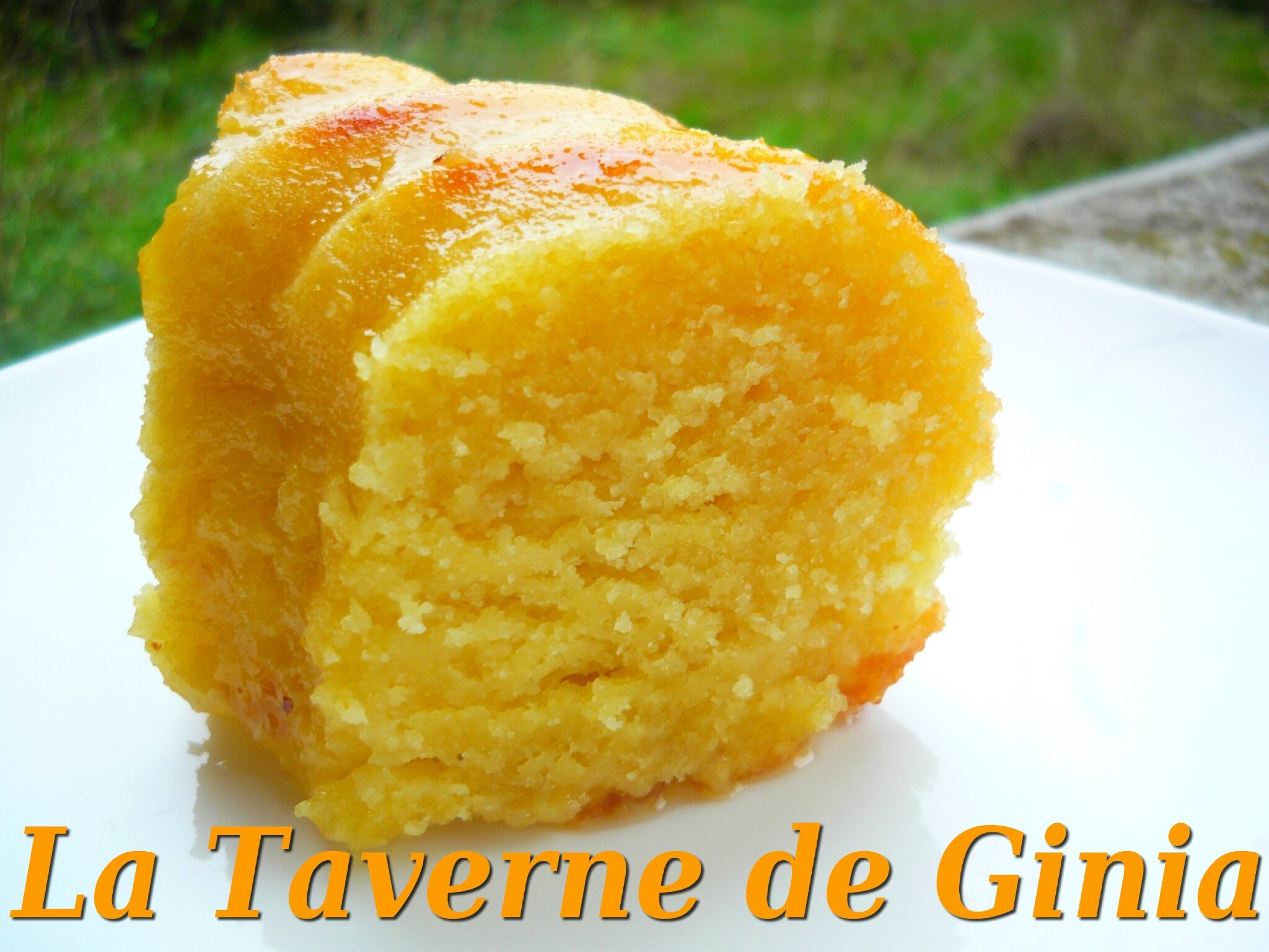 Gateau A L Orange Ultra Fondant Au Sirop Orange Fleur D Oranger La