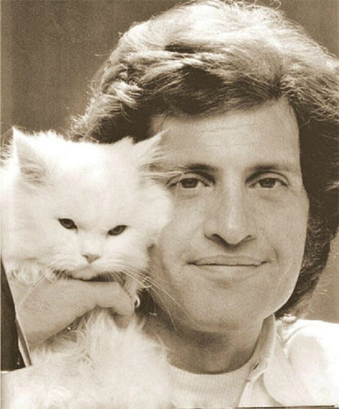 joe dassin et son chat