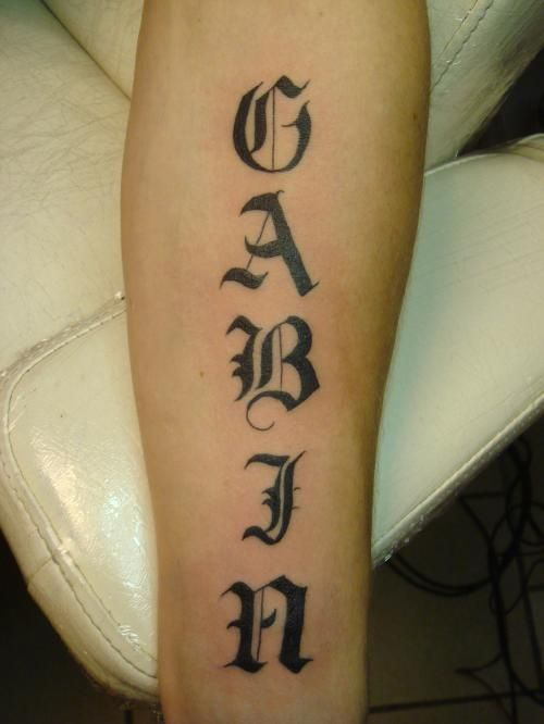 Tatouages L Association Emily Calligraphy