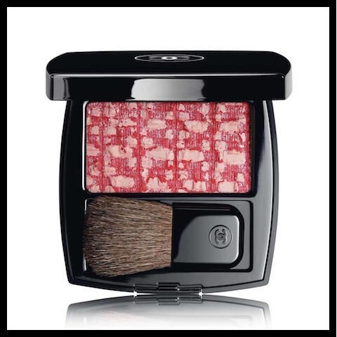 chanel blush duo les tissages tweed cherry blossom