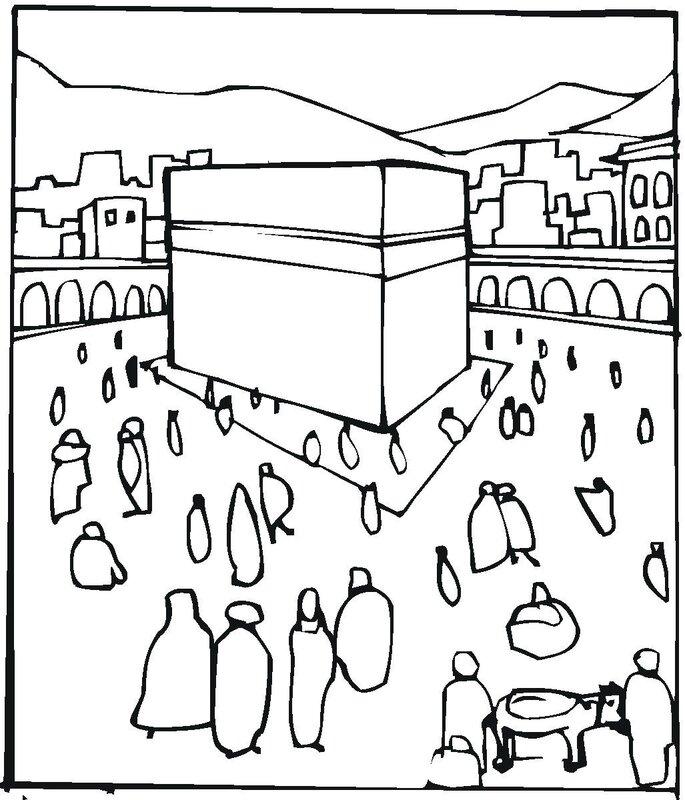 Mekkah-coloriage
