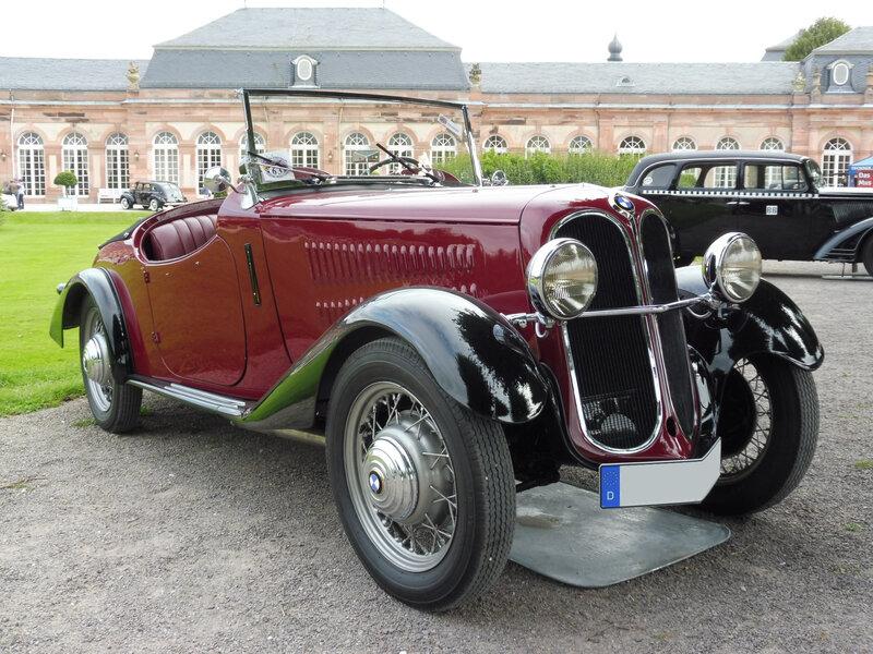 BMW 315 roadster Wendler 1935 Schwetzingen (1)