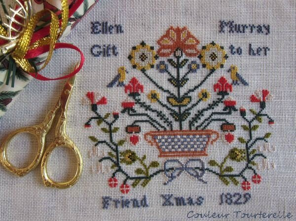 Ellen Murray 1829 sampler 01