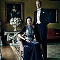 'windsor dressing' / outfits from the film w.e directed by madonna in vanity fair, september 2011