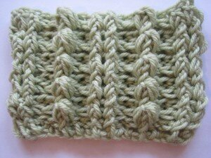 aran bobble stitch