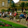 Ambiance au jardin du Luxembourg.