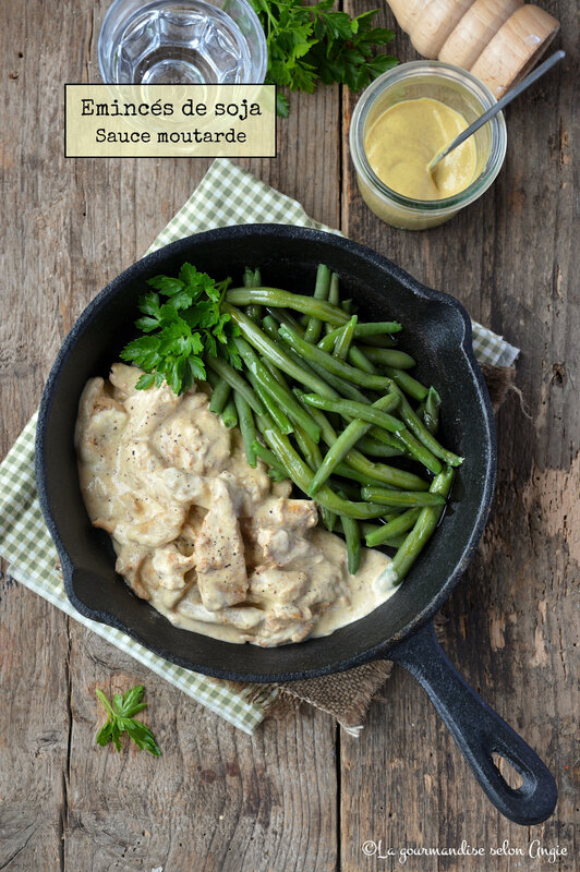 emincés de soja sauce moutarde vegan sans gluten (3)