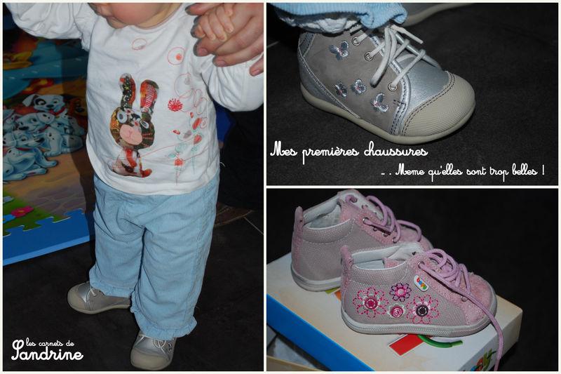 Les chaussures premières chaussures Les de Léonie Les carnets de Sandrine c57a6f