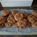 Cookies maison chocolat noir/blanc - noix de pécan