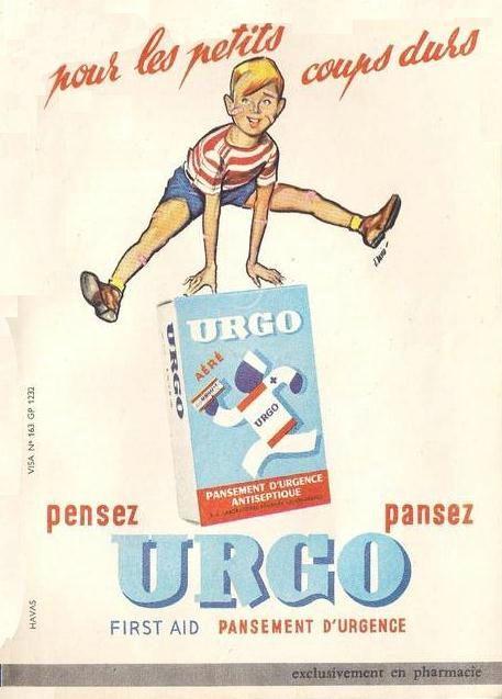 """Résultat de recherche d'images pour """"publicité URGO"""""""