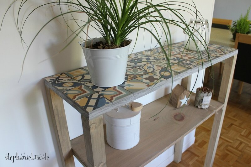 console diy carreaux ciment