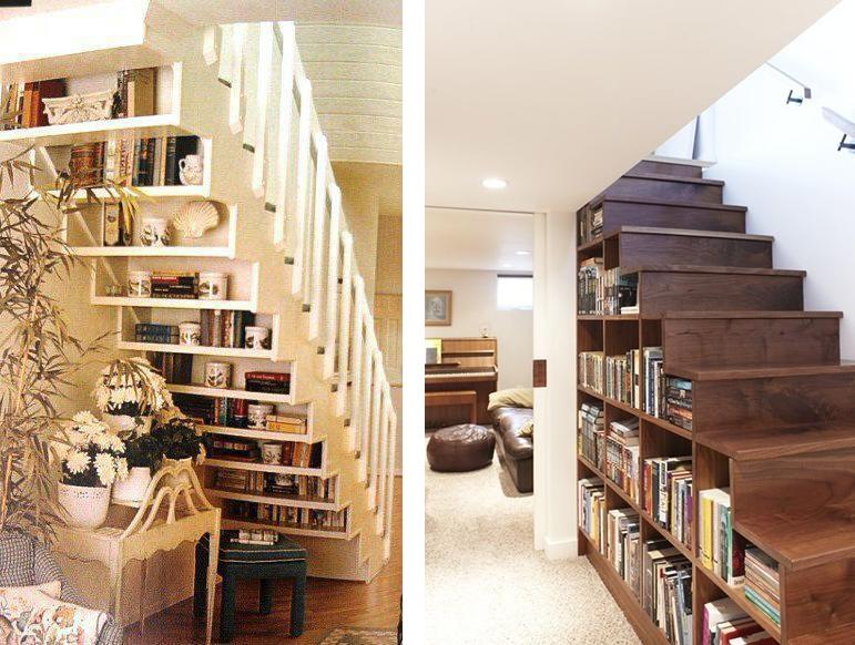 bibliotheque-sous-escalier-en-bois-livre
