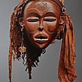 Fundação sindika dokolo acquires another looted mwana pwo mask made by the chokwe people