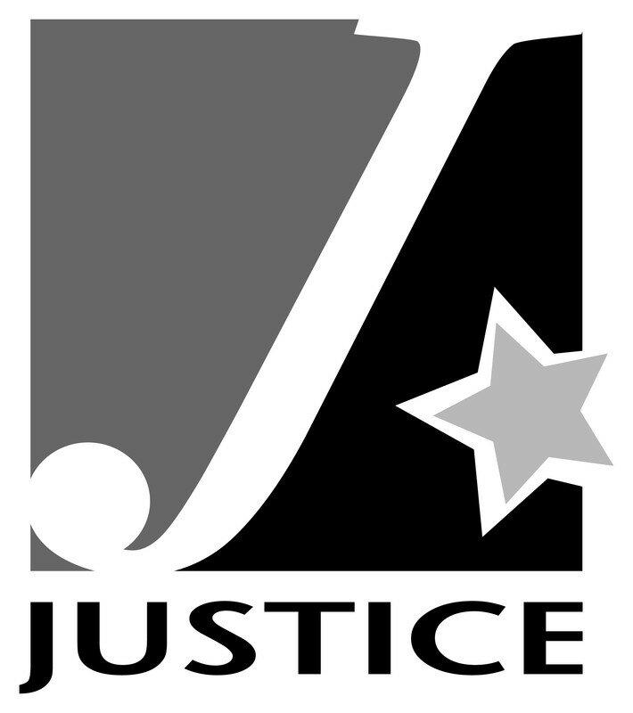 Logo du Club Justice n&b