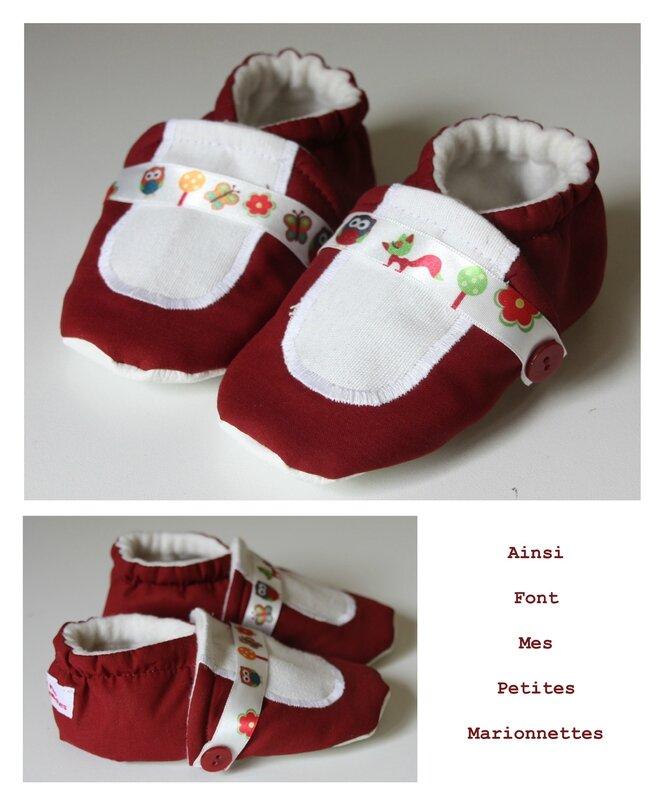 chaussons ballerine animaux