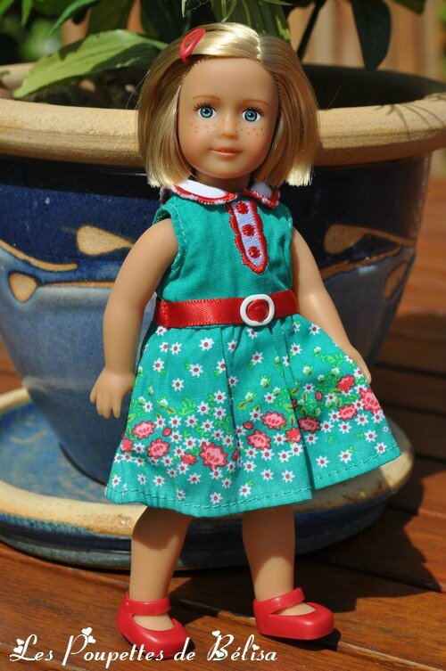 Paige - Mini American Girl - 17 cm