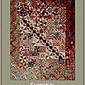 Exposition de patchwork au chateau trimoulet.
