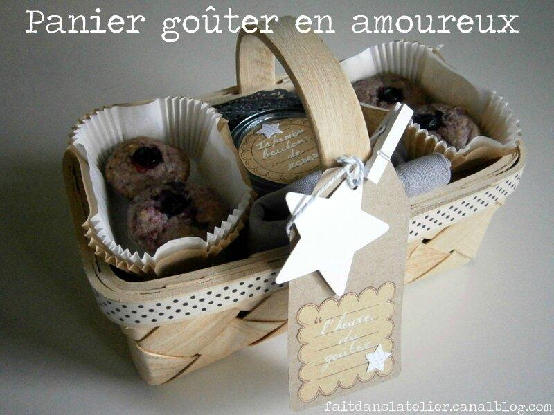 """""""Panier goûter en amoureux"""" par Anaïs de """"Fait dans l'atelier"""""""