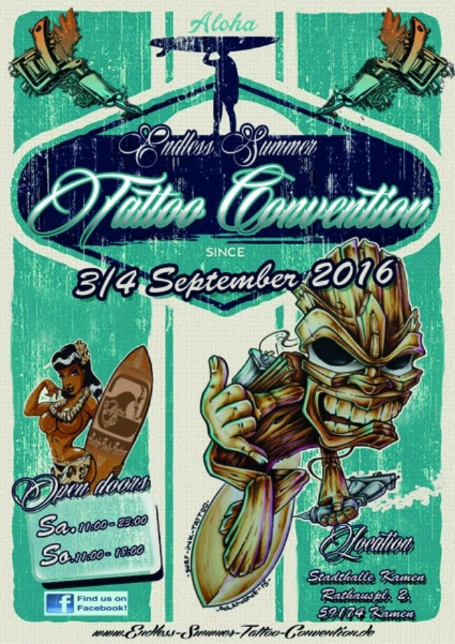 Tattoo Convention Summer .Endless 3 au 4 Septembre 2016