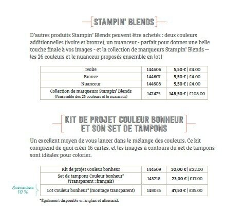 Gamme Stampin Blends 2