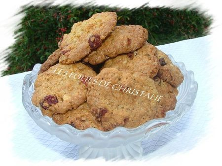 Cookies cranberries chocolat 9