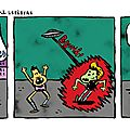 Essai strip 39 / scénario: poisson sec