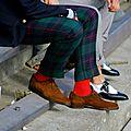 La chaussette de couleur, le style jusqu'au bout des pieds!