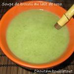 soupe brocoli coco