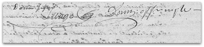 Lesage signature demande de domestique z